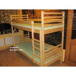 Łóżko Piętrowe Zebra