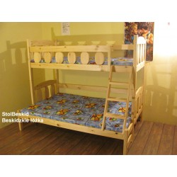 Łóżko 3 osobowe Rumcajs