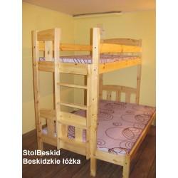 3 Osobowe łóżko z bocznym...