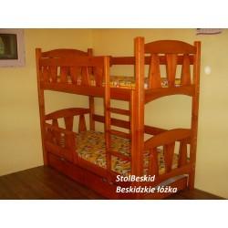 łóżko Piętrowe Piramida kolor