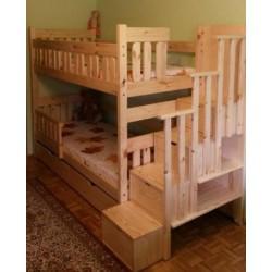 Łóżko Przemek ze schodami